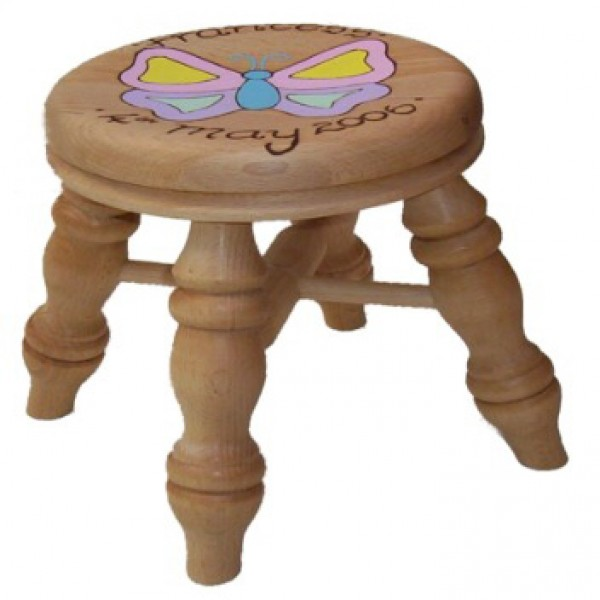 Child S Small Stool Girl
